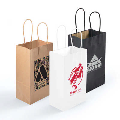 Express Paper Bag Small  - (printed with 1 colour(s)) LL547_LLPRINT