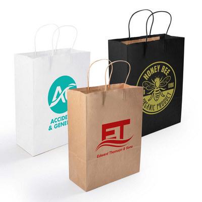 Express Paper Bag Medium  - (printed with 1 colour(s)) LL548_LLPRINT