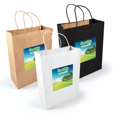 Express Paper Bag Large - (printed with 1 colour(s)) LL549_LLPRINT