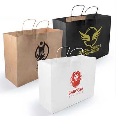 Express Paper Bag Extra Large - (printed with 1 colour(s)) LL562_LLPRINT