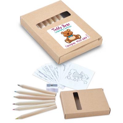Activity Pencil Set - (printed with 1 colour(s)) LL8152_LLPRINT
