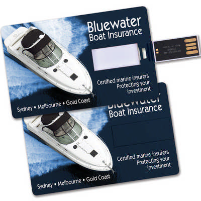 Credit Card Flash Drive  - (printed with 1 colour(s)) LL9605_LLPRINT