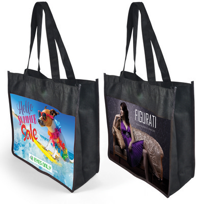 Cairo Non Woven Bag - Recycled Pet  - (printed with 1 colour(s)) LN539_LLPRINT