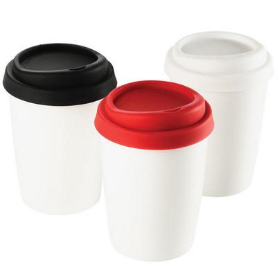Ceramic Mug with Silicone Lid 4030RD_NOTT