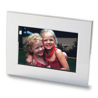 Nickel Plated Photo Frame 8811_NOTT