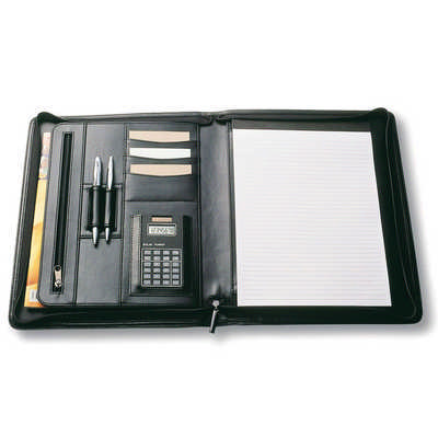 A4 Zippered Compendium 9012_NOTT