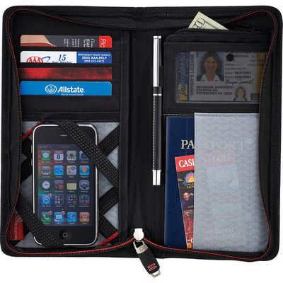 Elleven Jetsetter Travel Wallet EL010_NOTT