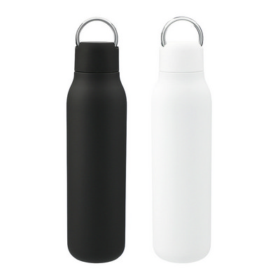 Marka Copper Vac Bottle W/ Metal Loop - (printed with 1 colour(s)) 4011_RNG_DEC