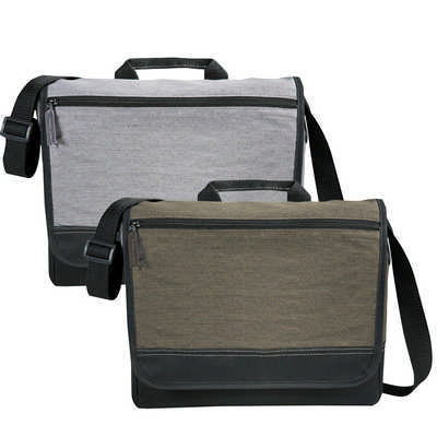 Faded Tablet Messenger Bag - (printed with 1 colour(s)) 5052_RNG_DEC