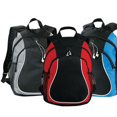 Boomerang Backpack - (printed with 1 colour(s)) 5146RD_RNG_DEC