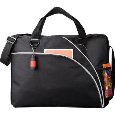 Double Curve Conference Bag - (printed with 1 colour(s)) 5154_RNG_DEC
