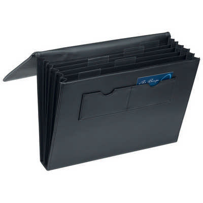 A4 Expandable File Portfolio 9166BK_RNG_DEC