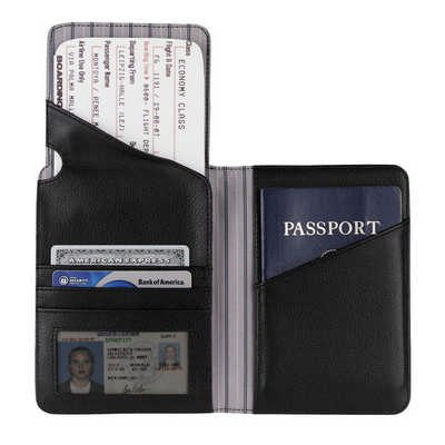 Cutter & Buck Performance Travel Wallet - (printed with 4 colour(s)) CB1009_RNG_DEC