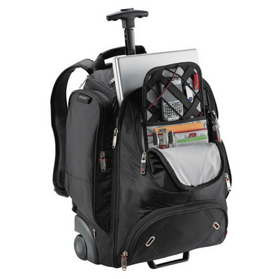 Elleven Wheeled Compu-backpack - (printed with 1 colour(s)) EL002_RNG_DEC