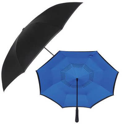 48 inch Auto Close Inversion Umbrella - (printed with 1 colour(s)) SB1007_RNG_DEC