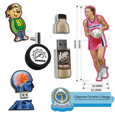 2d With Epoxy Usb Flash Drive - (printed with 1 colour(s)) USB2DEPOXY_RNG_DEC