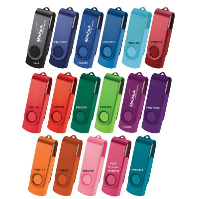 Rotate 2tone Flash Drive (10-12 Day) 32gb - (printed with 1 colour(s)) USB7860_2Tone_32G-10-12Day