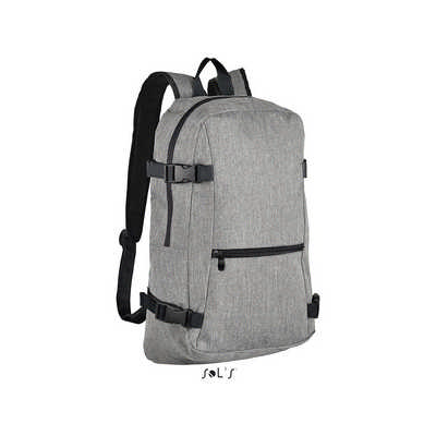 Wall Street 600d Polyester Backpack S01394_ORSO
