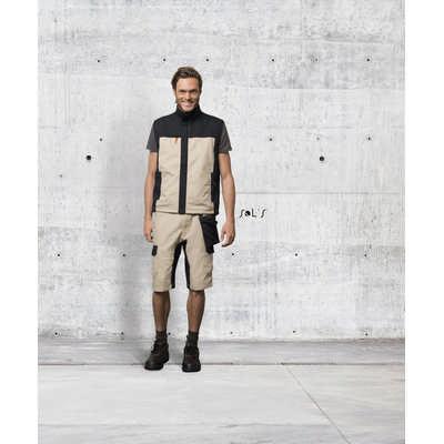 Impulse Pro Mens Two-colour Workwear Bermuda Shorts S01562_ORSO