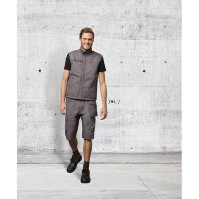 Ranger Pro Mens Solid Colour Workwear Bermuda Shorts S01563_ORSO