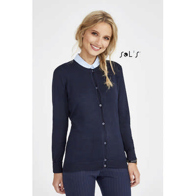 Griffin Womens Round-neck Cardigan S01716_ORSO