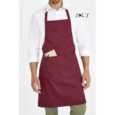 Gramercy Long Apron With Pocket S01744_ORSO