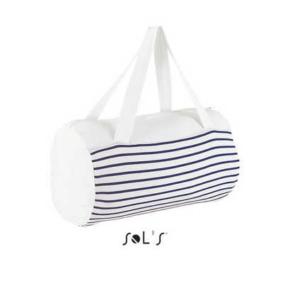 Sunset Striped Jersey Duffel Bag S02122_ORSO