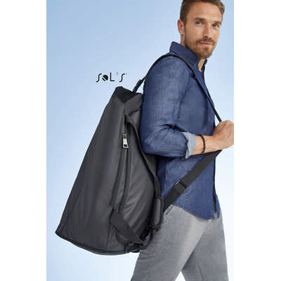 Chrome Coated Canvas Sports Bag S02926_ORSO