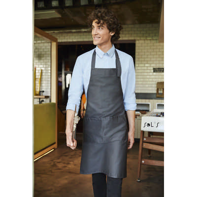 Gala Long Apron With Pockets S88010_ORSO