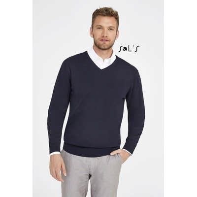 Galaxy Mens - V-neck Sweater S90000_ORSO