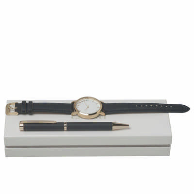 Cacharel Set Bagatelle Bleu (ballpoint Pen & Watch) CPBN636N_ORSO