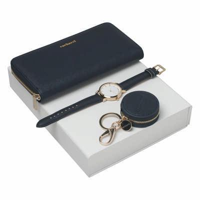 Cacharel Set Bagatelle Bleu (key Ring, Lady Purse & Watch) CPKLN636N_ORSO