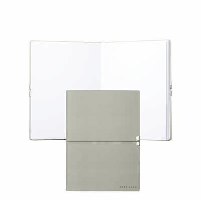 Hugo Boss Note Pad A5 Storyline Light Grey HNH704K_ORSO