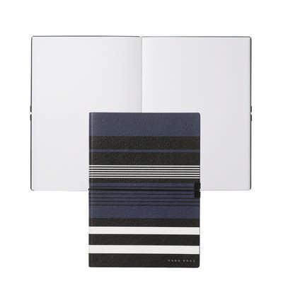 Hugo Boss Note Pad A5 Storyline Stripes Blue HNH908N_ORSO