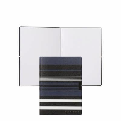 Hugo Boss Note Pad A6 Storyline Stripes Blue HNM908N_ORSO
