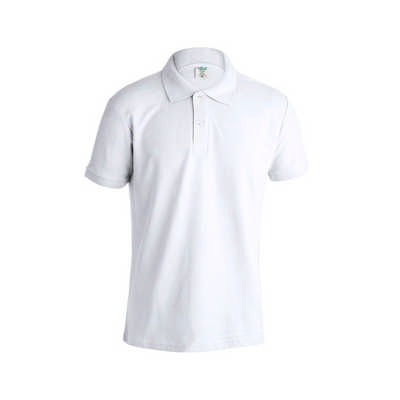 Adult White Polo Shirt
