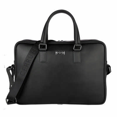 Cerruti 1881 Laptop Bag Irving Black NTL012A_ORSO