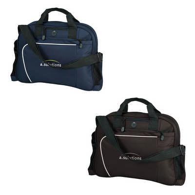 Curved Zipped Brief Bag G1263_ORSO