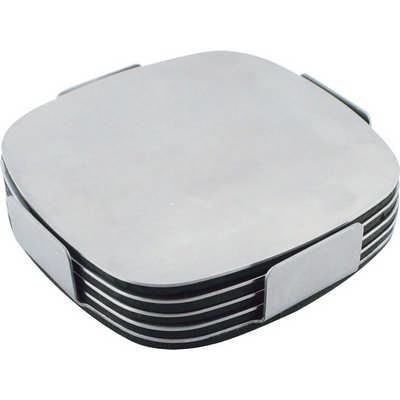 Executive Stainless Steel Coaster Set G724_ORSO