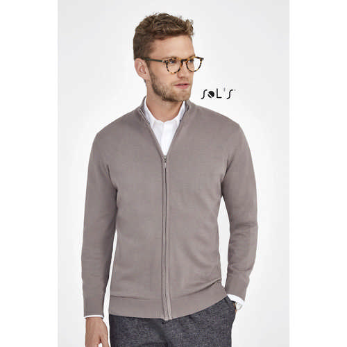 Gordon Mens Zipped Cardigan S00548_ORSO_DEC