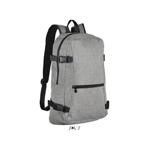 Wall Street 600d Polyester Backpack - (printed with 4 colour(s)) S01394_ORSO_DEC