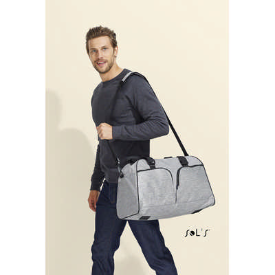 Hudson 600d Polyester Travel Bag - (printed with 4 colour(s)) S01397_ORSO_DEC