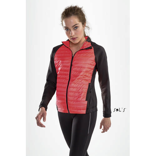 New York Womens Running Lightweight Jacket - (printed with 4 colour(s)) S01473_ORSO_DEC