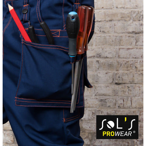 Block Pro Workwear Removable Pocket - (printed with 4 colour(s)) S01564_ORSO_DEC