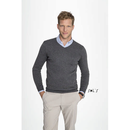 Glory Mens V-neck Sweater - (printed with 4 colour(s)) S01710_ORSO_DEC