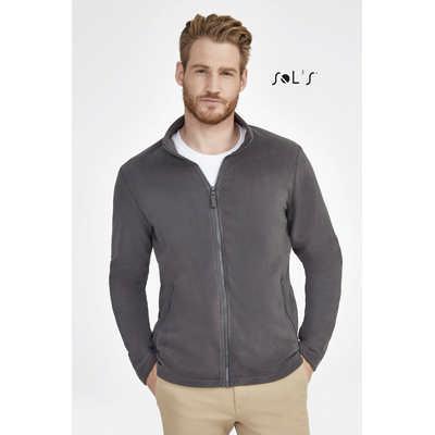 Norman Mens Plain Fleece Jacket - (printed with 4 colour(s)) S02093_ORSO_DEC