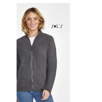 Norman Women Womens Plain Fleece Jacket - (printed with 4 colour(s)) S02094_ORSO_DEC