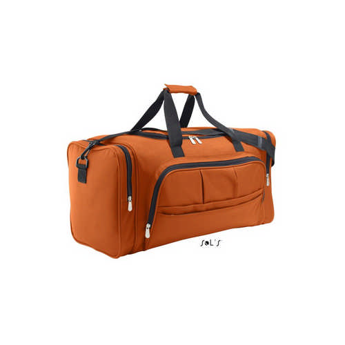 Week-end 600d Polyester Multi-pocket Travel Bag - (printed with 4 colour(s)) S70900_ORSO_DEC