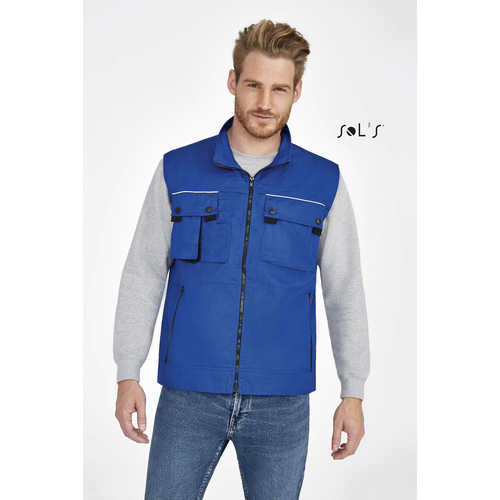 Zenith Pro Workwear Bodywarmer - (printed with 4 colour(s)) S80500_ORSO_DEC