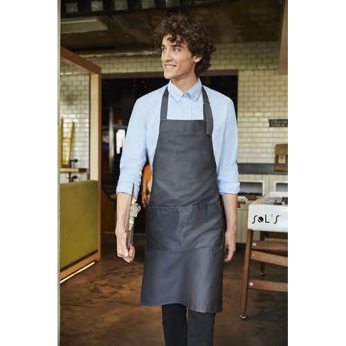 Gala Long Apron With Pockets - (printed with 4 colour(s)) S88010_ORSO_DEC